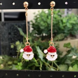 NWT! Betsey Johnson Santa Earrings!